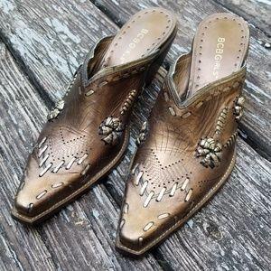 BCBGirls Cowboy mules